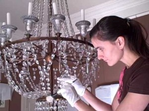 Tips på att rengöra en kristallkrona